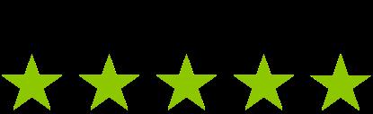 SoundstoreXL har fem stjerner på Trustpilot