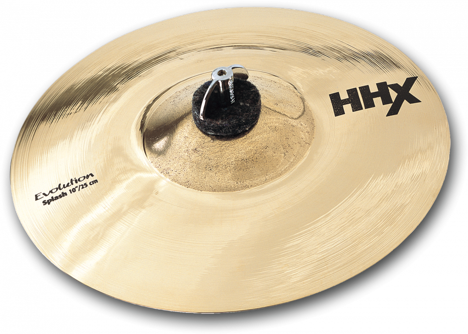 "Image of   Sabian 10"" HHX Evolution Splash Brilliant Finish"