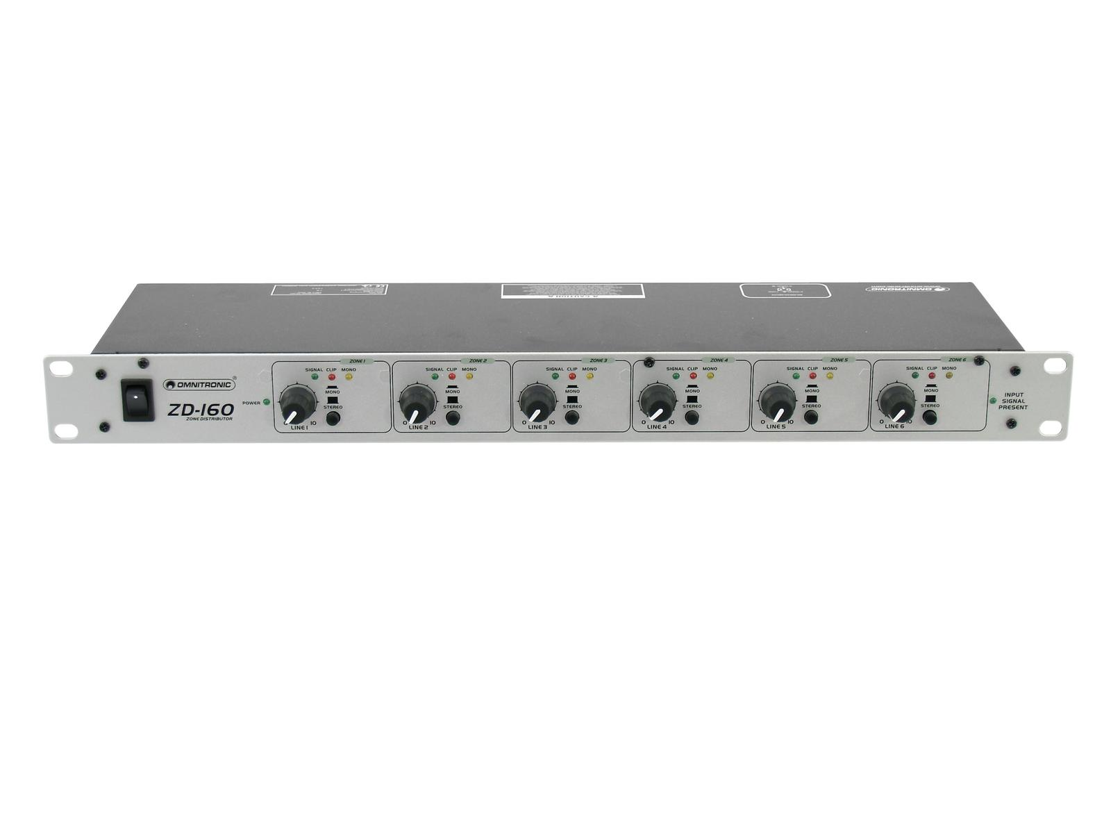 Omnitronic ZD-160 Zone Mixer