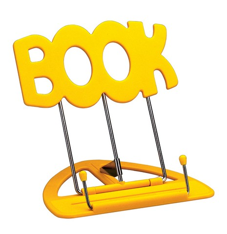 Image of   K&M bord-nodestativ gul, kasse med 12 stk