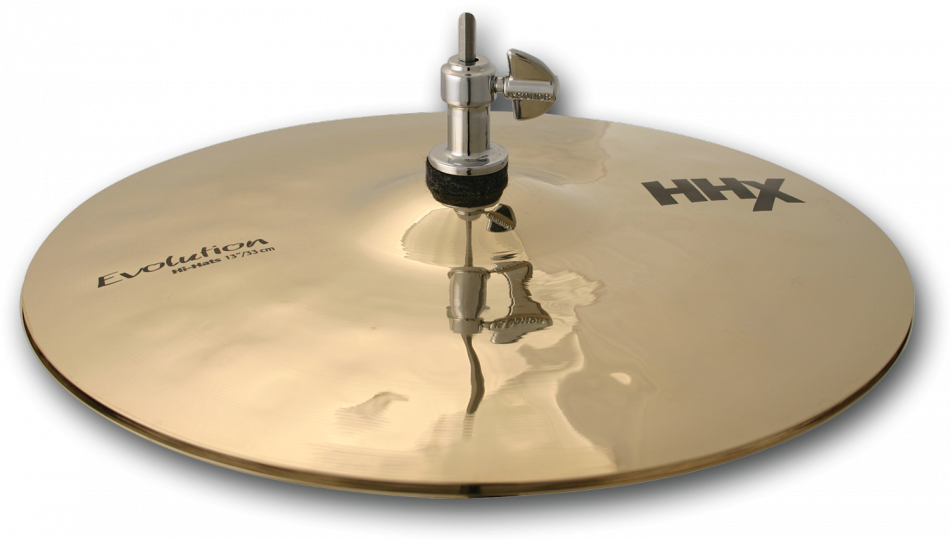 "Image of   Sabian 13"" HHX Evolution Hi-hat (Brilliant Finish)"