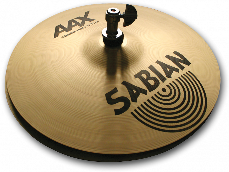 "Image of   Sabian 14"" AAX Studio Hi-hat"