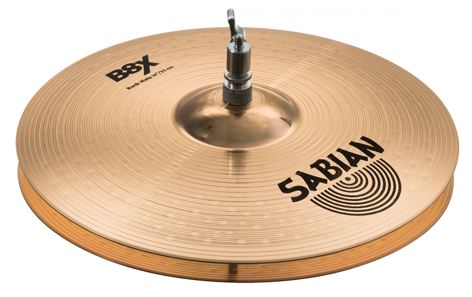 "Image of   Sabian 14"" B8X Rock Hi-hat"