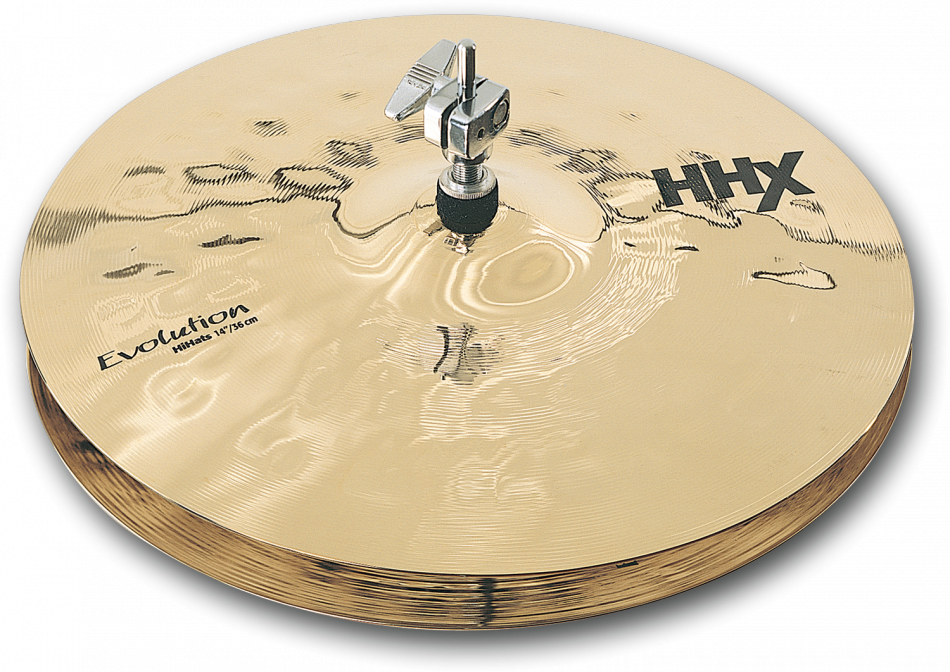 "Image of   Sabian 14"" HHX Evolution Hi-hat (Brilliant Finish)"