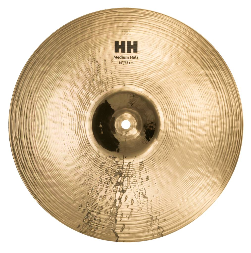 "Image of   Sabian 14"" HH Medium Hi-hat (Brilliant Finish)"