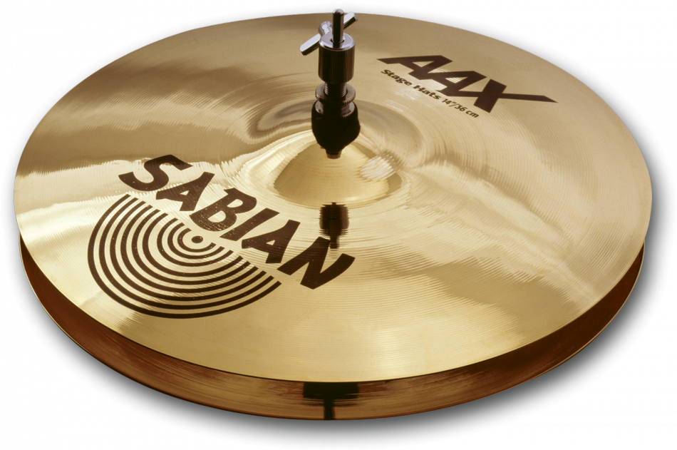 "Image of   Sabian 14"" AAX Stage Hi-hat"