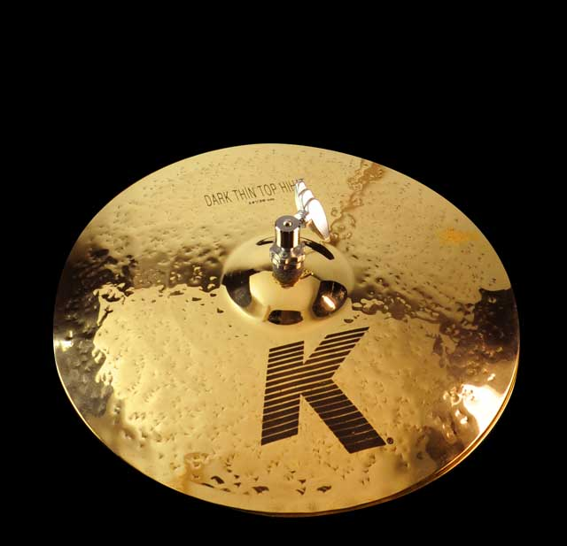 "Zildjian 14"" K Dark Thin Hi-hat - Brill. Finish "" Limited"" DEMO"