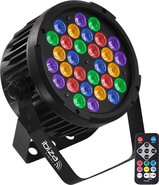 Image of   IBIZA Par LED RGBA-UV