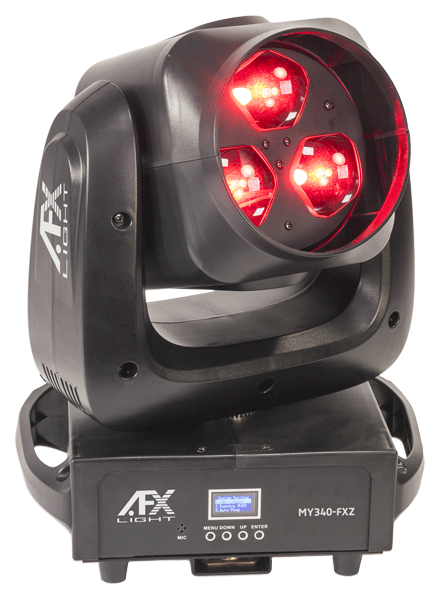 Image of   AFX LED Moving head Wash-Beam-Graphic