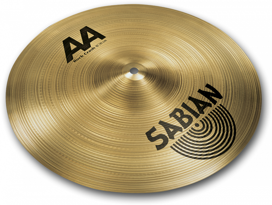 "Image of   Sabian AA 16"" Rock Crash cymbal"