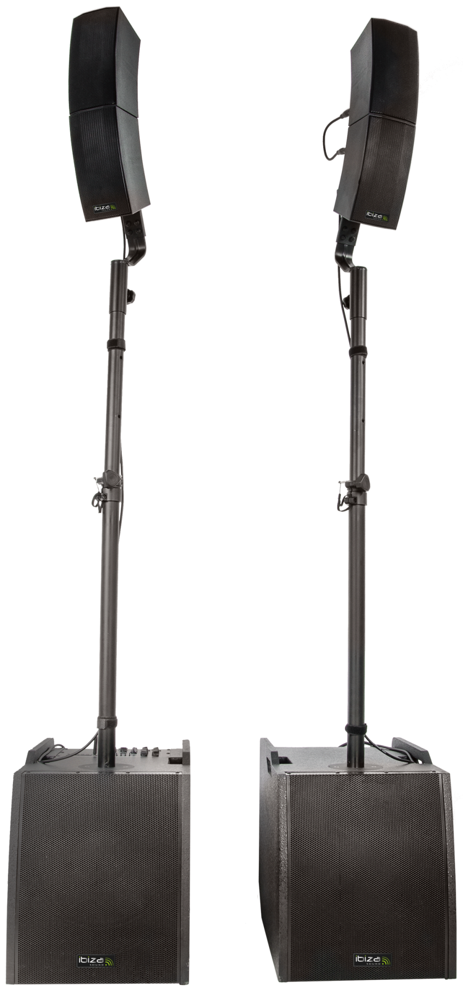 Image of   Ibiza Aktiv combo højttaler system 2.2