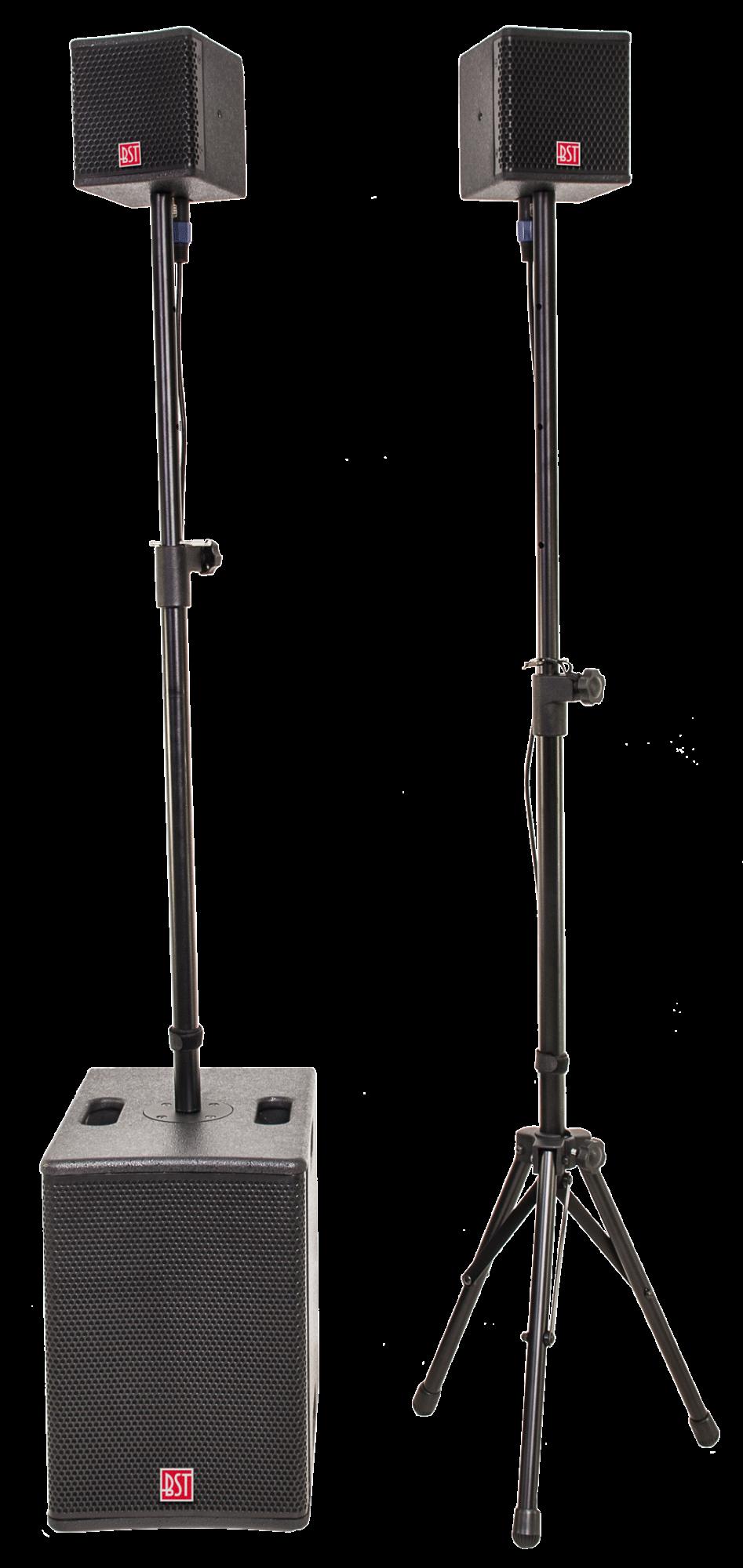 Image of   BST FIRST 2.1 Aktivt højttaler system 400 Watt