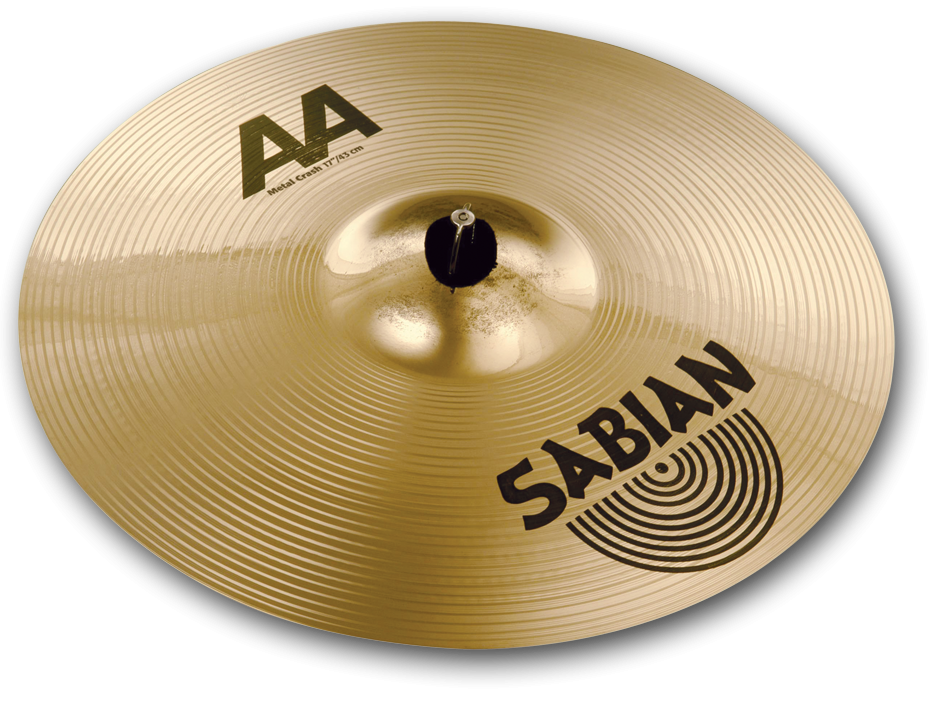 "Image of   Sabian 17"" AA Metal Crashbækken"