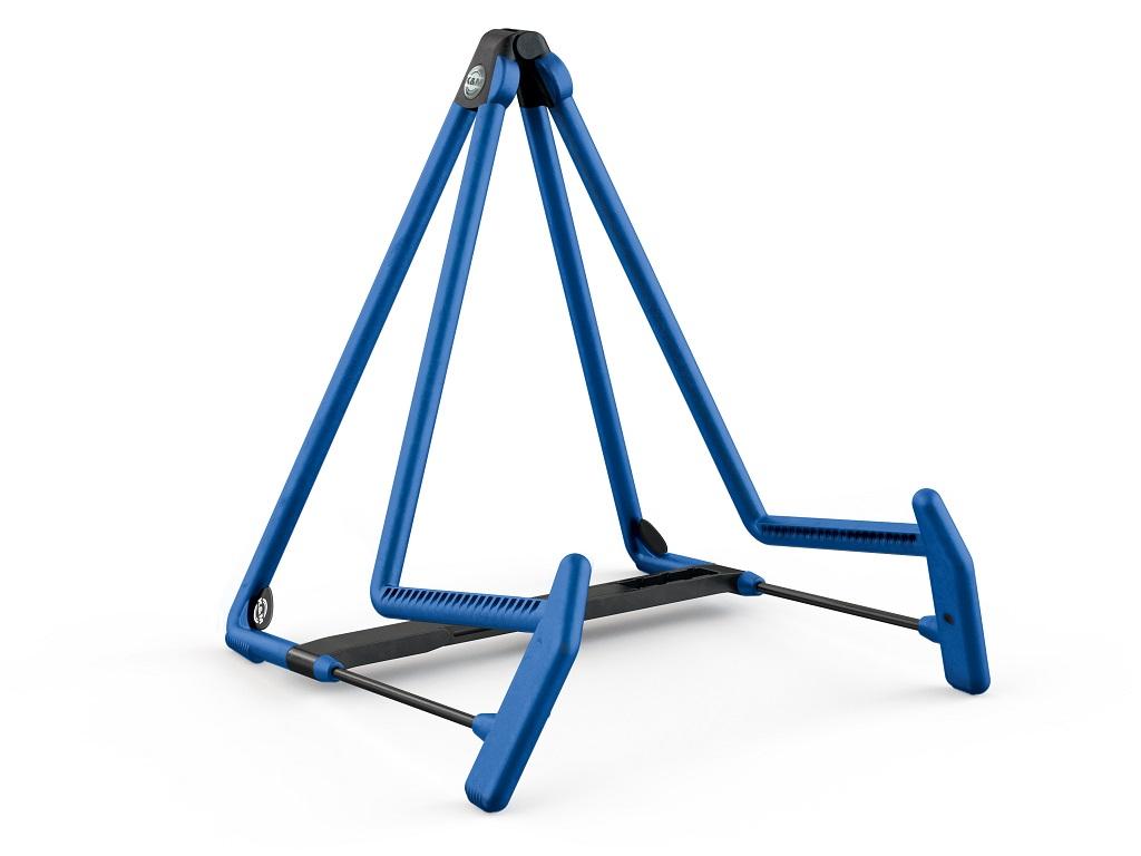 Image of   K&M guitarstativ HELI 2 til Akustisk, blå