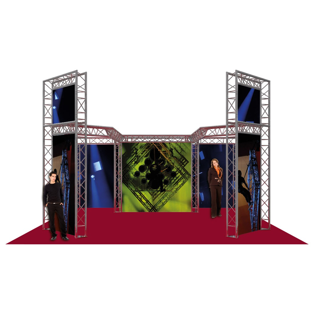Messestand 6 x 5,5 x 3,6 mtr. (DT 33)