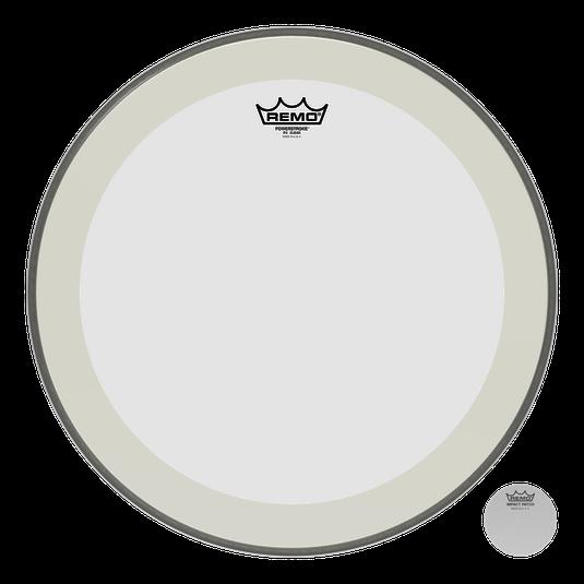 """Remo Trommeskind 24"""" Powerstroke 4 Bass Clear"""