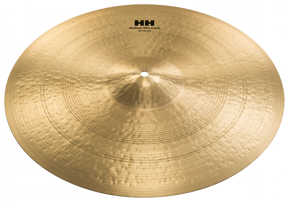 "Image of   Sabian 18"" HH Medium-Thin Crash"