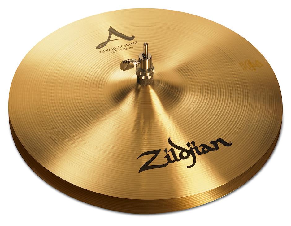 """Image of   Zildjian 15"""" A Zildjian New Beat Hihatbækken"""