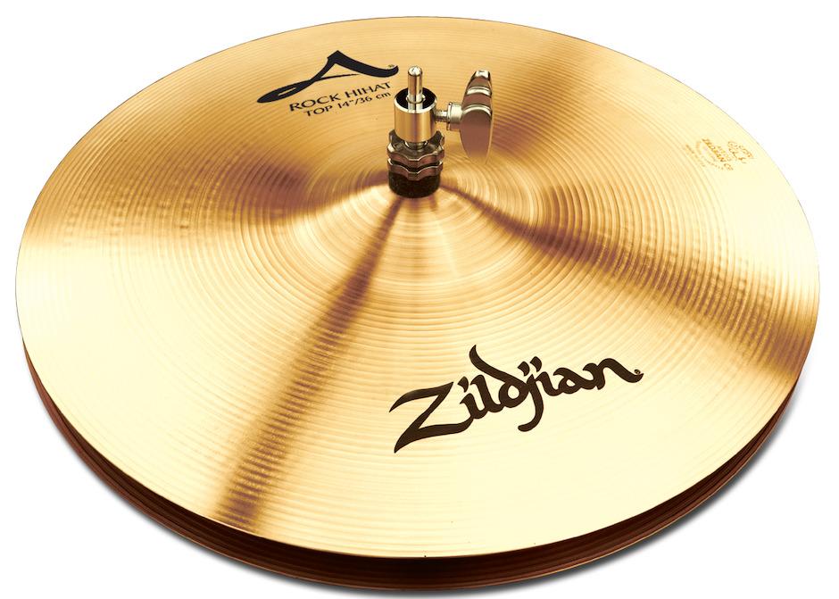 """Image of   Zildjian 14"""" A Rock Hihatbækken"""