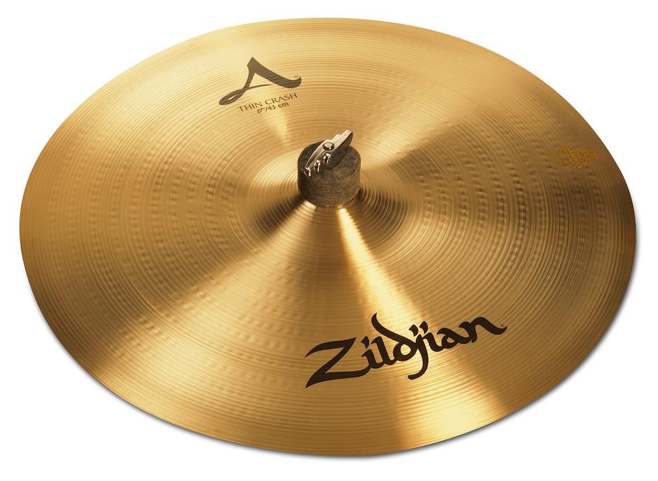 """Zildjian 17"""" A Zildjian Thin Crashbækken"""