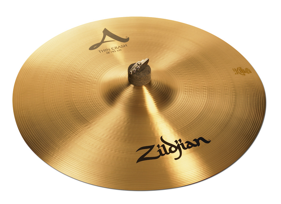 "Image of   Zildjian 18"" A Thin Crashbækken"