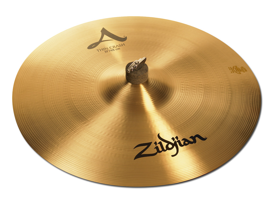 """Zildjian 19"""" A Thin Crashbækken"""