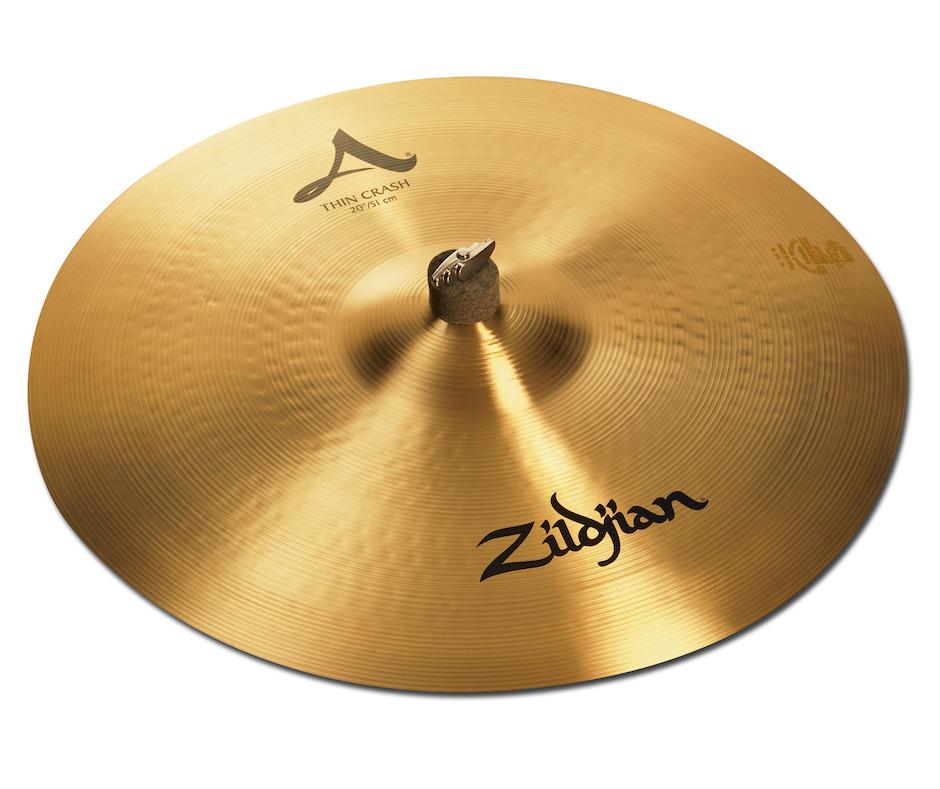 """Zildjian 20"""" A Thin Crashbækken"""