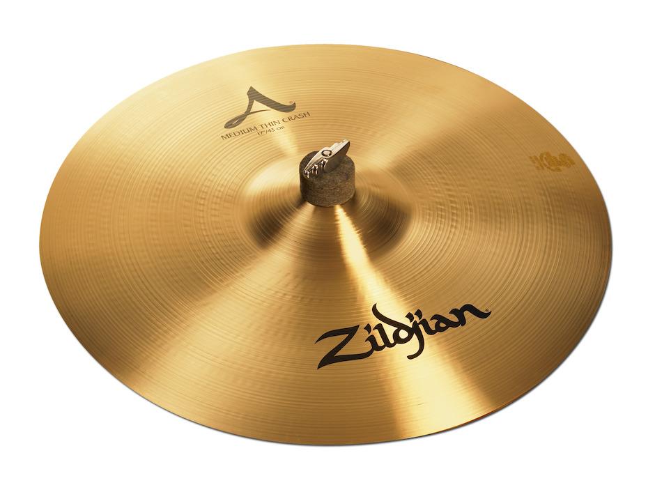 """Zildjian 17"""" A Zildjian Medium Thin Crashbækken"""