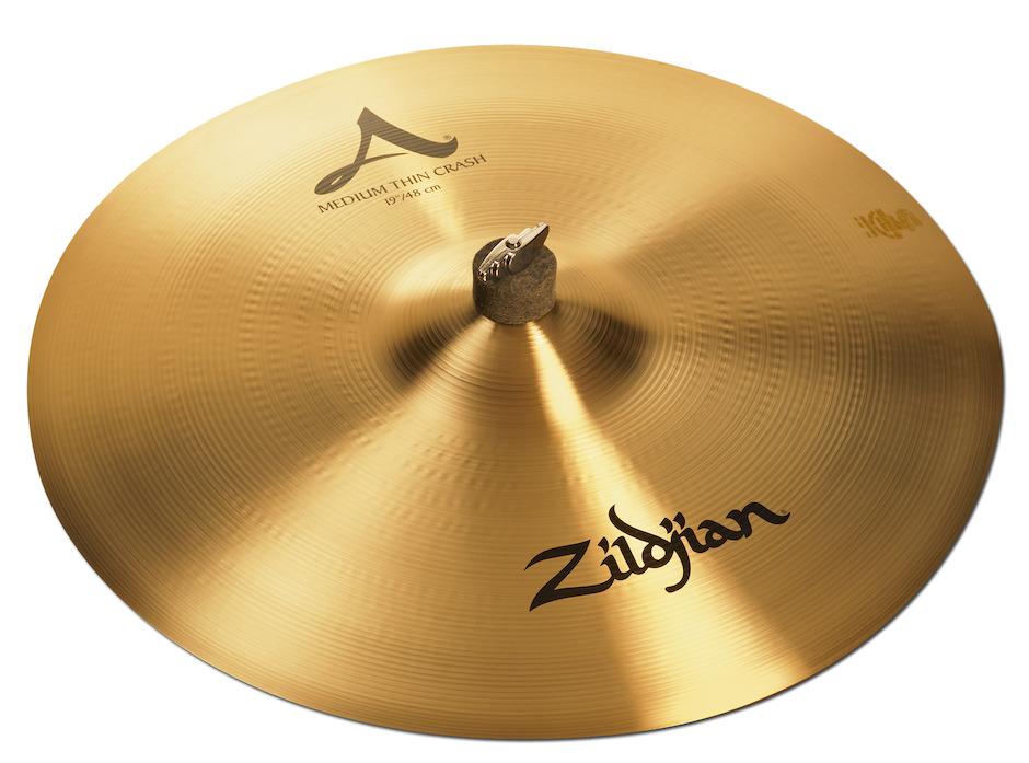 """Zildjian 19"""" A Medium Thin Crashbækken"""