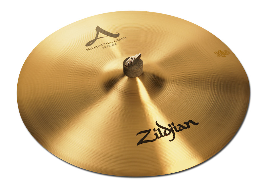 """Zildjian 20"""" A Medium Thin Crashbækken"""