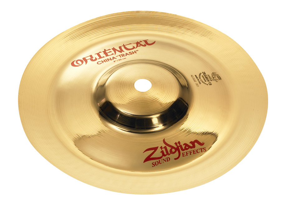 "Zildjian 8"" Oriental China Trash Splashbækken"