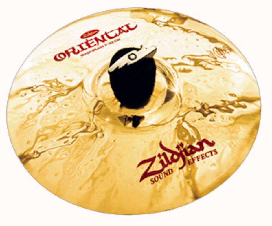 "Zildjian 9"" Oriental Trash Splashbækken"