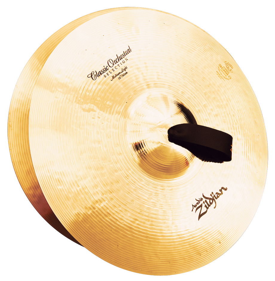 "Image of   ZILDJIAN Orchestral Cymbals Medium Light 16"" Orkesterbækkener"