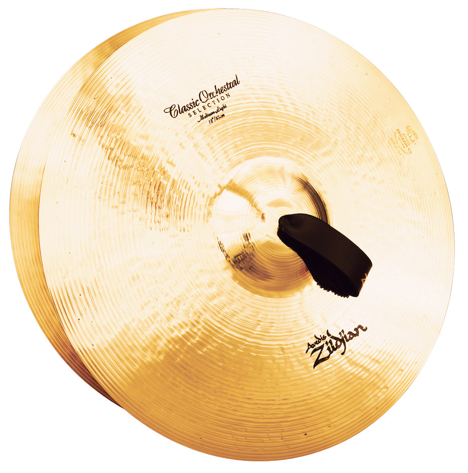 "Zildjian 18"" Classic Orchestral Selection Medium Light Orkesterbækkener"