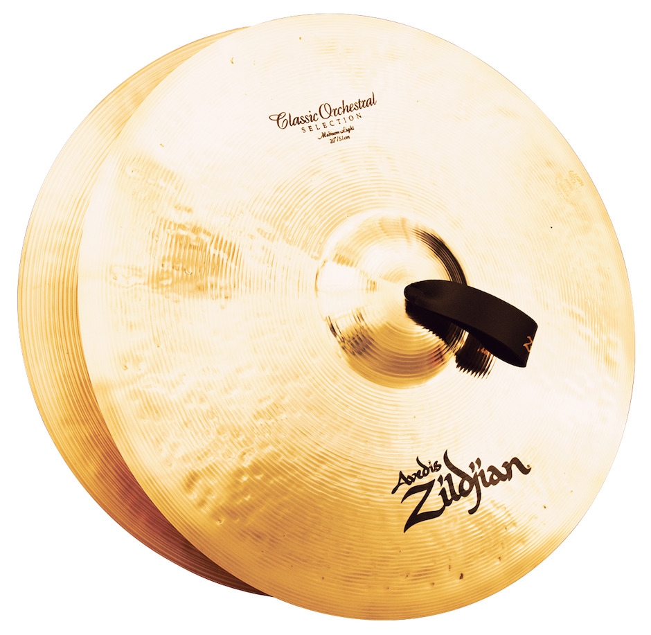 "Zildjian 20"" Classic Orchestral Selection Medium Light Orkesterbækkener"