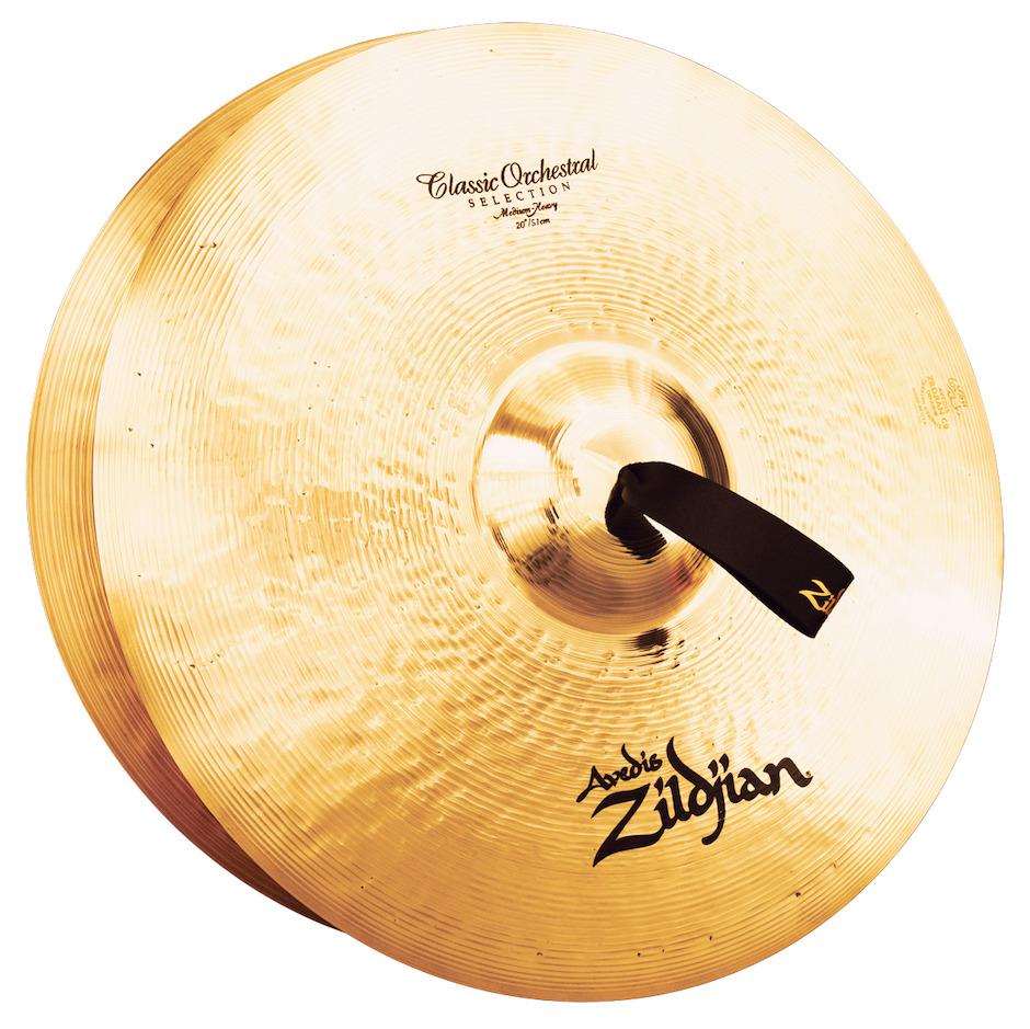 "Zildjian 20"" Classic Orchestral Selection Medium Heavy Orkesterbækkener"