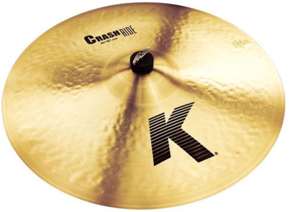 "Zildjian 20"" K Crash/Ridebækken"