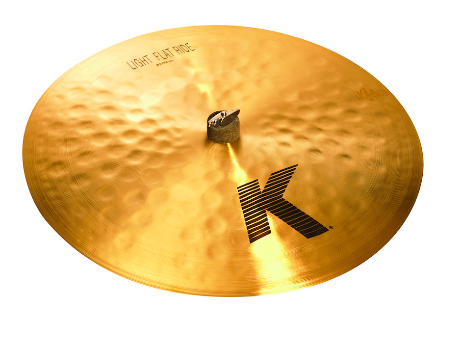 "Image of   Zildjian 20"" K Light Flat Ridebækken"