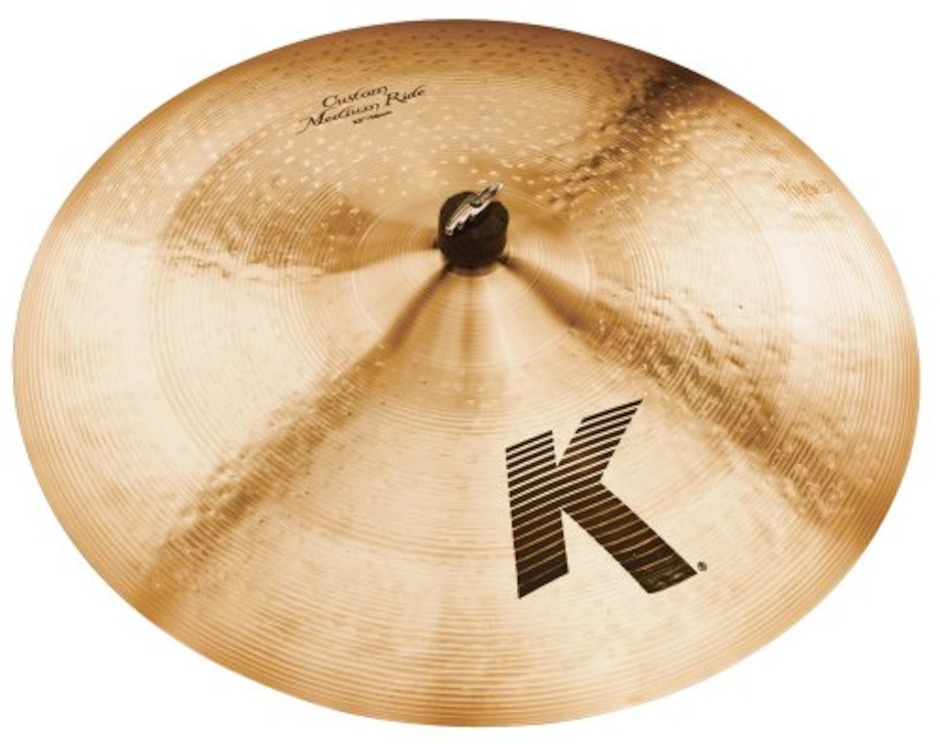 "Image of   Zildjian 22"" K Custom Medium Ridebækken"