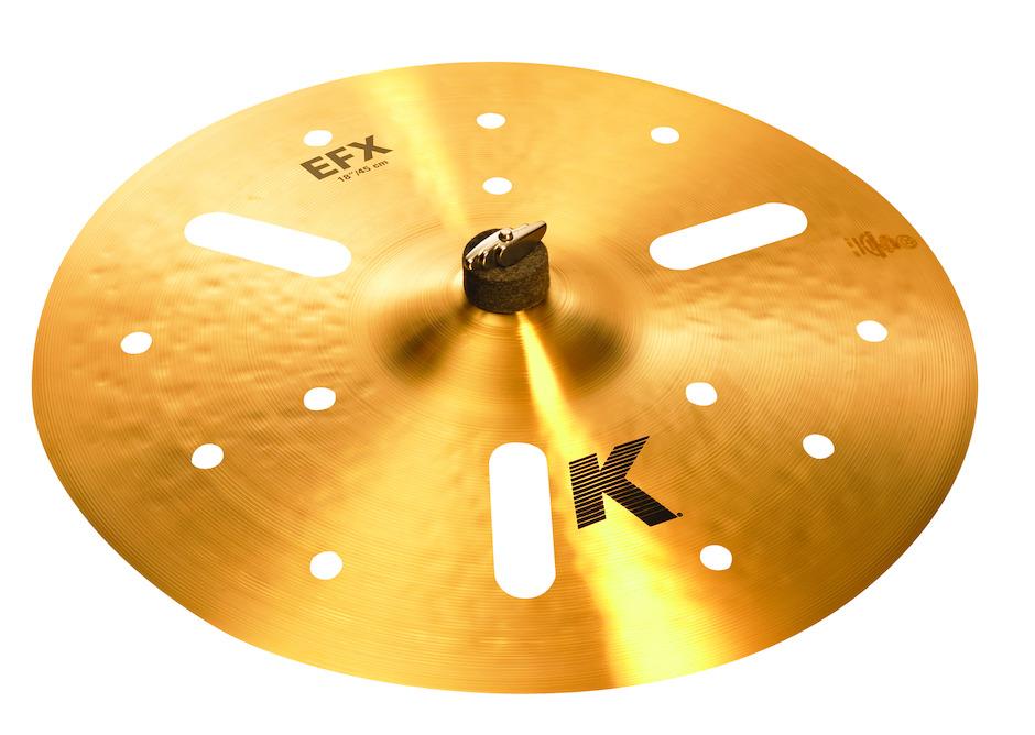"""Zildjian 18"""" K Zildjian EFX Crashbækken"""