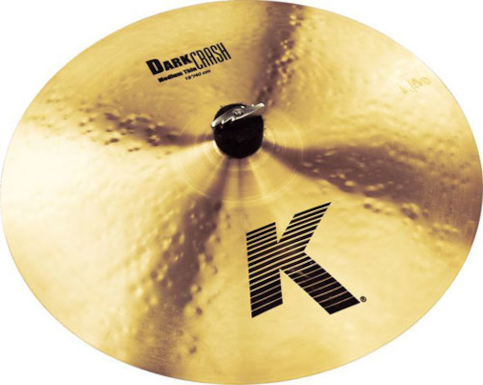 "Image of   Zildjian 16"" K Dark Thin Crashbækken"