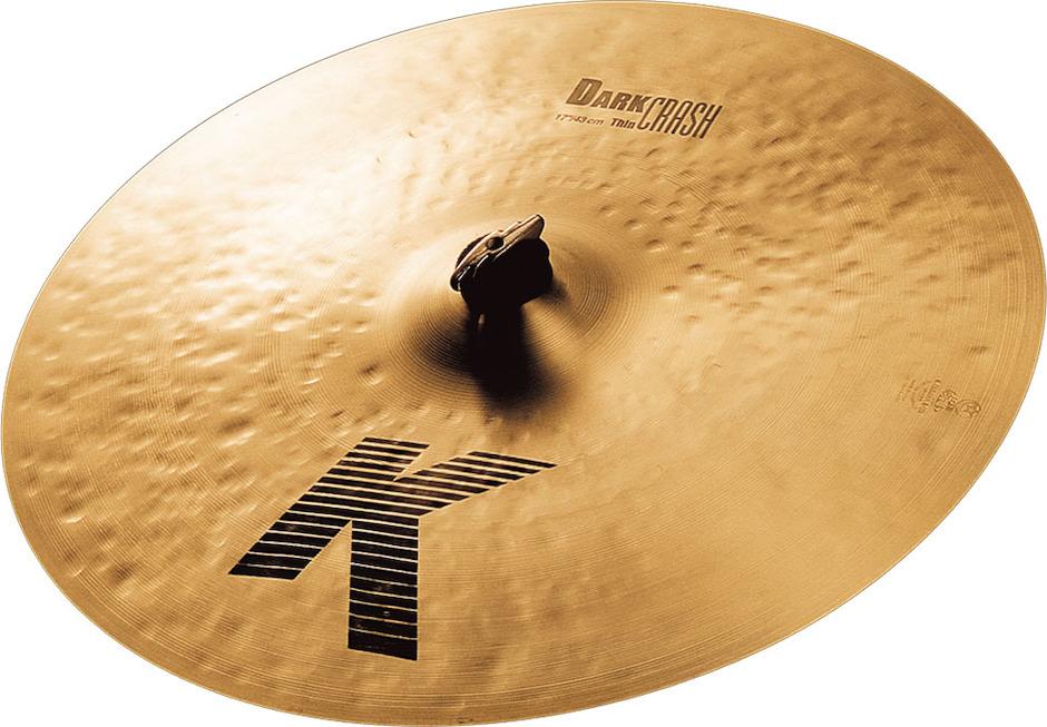 "Zildjian 17"" K Dark Thin Crashbækken"