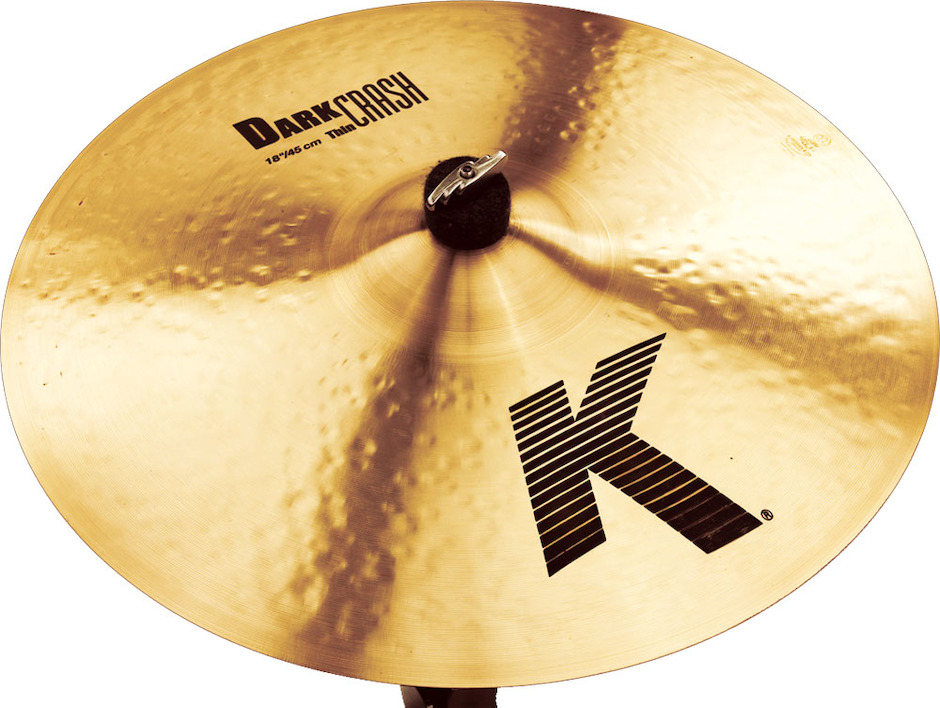 "Image of   Zildjian 18"" K Dark Thin Crashbækken"