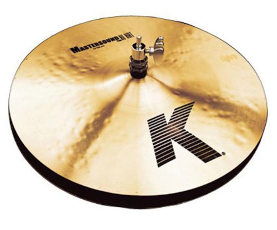 """Image of   Zildjian 14"""" K Master Sound Hihatbækken"""