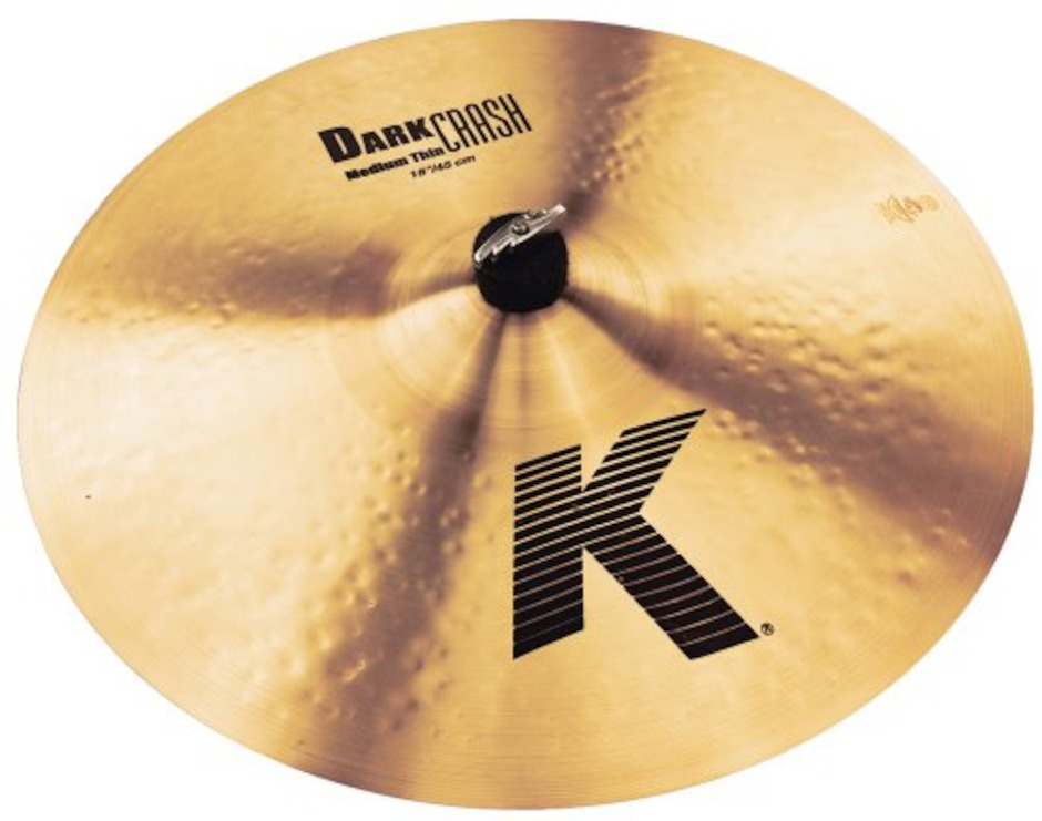 "Image of   Zildjian 18"" K Dark Medium Thin Crashbækken"