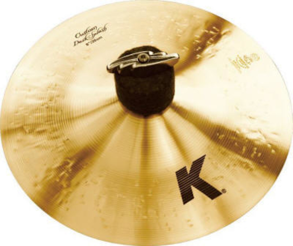 "Image of   Zildjian 8"" K Custom Dark Splashbækken"