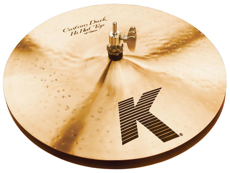 "Image of   Zildjian 14"" K Custom Dark Hihatbækken"