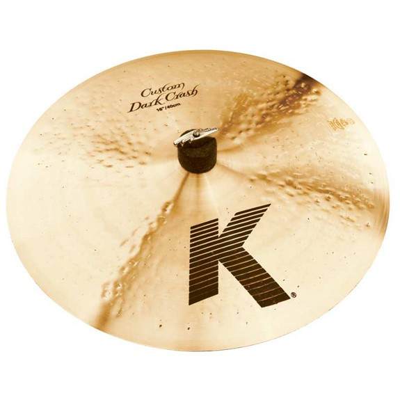 "Image of   Zildjian 16"" K Custom Dark Crashbækken"