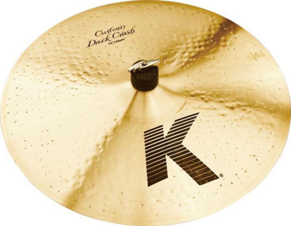 """Zildjian 17"""" K Custom Dark Crashbækken"""