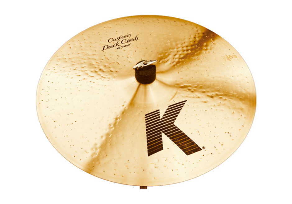 "Image of   Zildjian 18"" K Custom Dark Crashbækken"